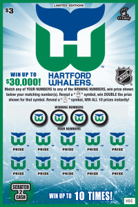 Whalers Scratch Ticket